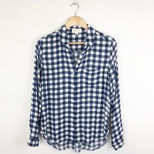 Cloth & Stone Gingham Button Down